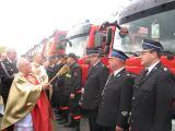 Poświęcenie i przekazanie samochodów pożarniczych