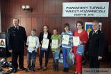Powiatowe Eliminacje Turnieju Wiedzy Pożarniczej 2012